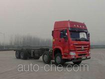 豪沃牌ZZ3317N4867E1型自卸汽车底盘