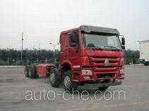 豪沃牌ZZ3317N4867E1C型自卸汽车底盘