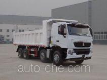 豪沃牌ZZ3317V356HE1型自卸汽车