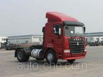 豪运牌ZZ4185M3515C型牵引汽车