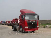 Sinotruk Hania ZZ4185M3515C1Z container transport tractor unit