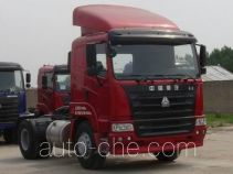 豪运牌ZZ4185N3515C1B型牵引汽车