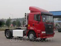 豪运牌ZZ4185N3815C1C型牵引汽车