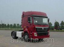 豪运牌ZZ4185V3815C1CB型牵引汽车