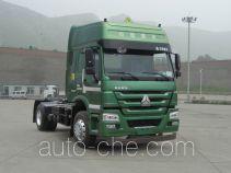 Sinotruk Howo ZZ4187N3617D1W dangerous goods transport tractor unit