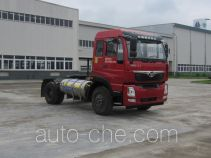 豪曼牌ZZ4188K10EL0型天然气牵引汽车