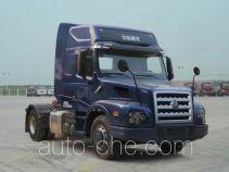 威泺牌ZZ4189N461CC1Z型集装箱半挂牵引车