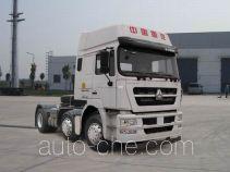 斯达-斯太尔牌ZZ4253N25C1D1型牵引汽车