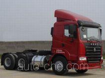 豪运牌ZZ4255M2945C1B型牵引汽车