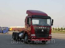 Sinotruk Hania ZZ4255M2945C1Z container transport tractor unit