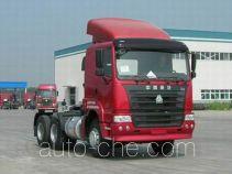豪运牌ZZ4255M3245C型牵引汽车