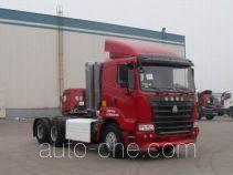 豪运牌ZZ4255M3845C1C型牵引汽车