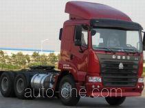 豪运牌ZZ4255N2945C1B型牵引汽车