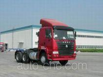 豪运牌ZZ4255N3245C型牵引汽车