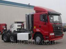 豪运牌ZZ4255N3845C1C型牵引汽车