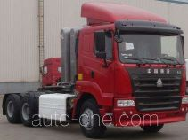 Sinotruk Hania ZZ4255N3845C1CZ container transport tractor unit