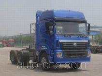 豪运牌ZZ4255N3845C1LB型牵引汽车