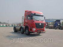 豪瀚牌ZZ4255N38C6E1L型牵引汽车
