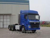 豪运牌ZZ4255V3845C1CH型牵引汽车