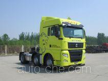 Sinotruk Sitrak ZZ4256V25CHE1W dangerous goods transport tractor unit