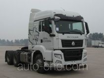 Sinotruk Sitrak ZZ4256V323ME1Z container carrier vehicle