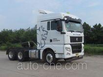 Sinotruk Sitrak ZZ4256V324HD1W dangerous goods transport tractor unit