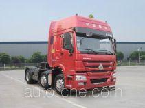 Sinotruk Howo ZZ4257N25C7D1W dangerous goods transport tractor unit