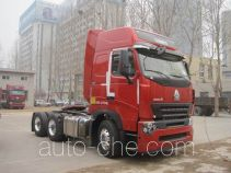 Sinotruk Howo ZZ4257N3247P1Z container transport tractor unit