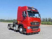 Sinotruk Howo ZZ4257V25CHD1W dangerous goods transport tractor unit
