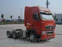 Sinotruk Howo ZZ4257W323HE1W dangerous goods transport tractor unit