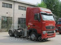 Sinotruk Howo ZZ4257W324HE1Z container carrier vehicle