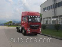 豪曼牌ZZ4258M40EL0型天然气牵引汽车