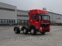 豪曼牌ZZ4258MC0DB0型牵引汽车