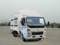 豪沃牌ZZ5047CCYC2813D145型仓栅式运输车