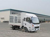 豪沃牌ZZ5047CCYC3414D137型仓栅式运输车