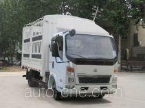 豪沃牌ZZ5047CCYC3414D145型仓栅式运输车