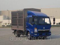 豪沃牌ZZ5047CCYD2813D1Y41型仓栅式运输车