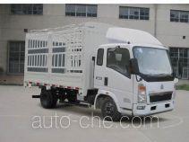 豪沃牌ZZ5047CCYD3413D145型仓栅式运输车