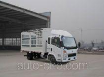 豪沃牌ZZ5047CCYD3414D137型仓栅式运输车