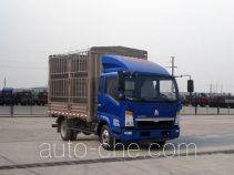 豪沃牌ZZ5047CCYD3414D143型仓栅式运输车