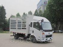 豪沃牌ZZ5047CCYD3415D145型仓栅式运输车