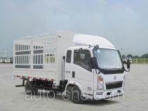 豪沃牌ZZ5047CCYD3814D145型仓栅式运输车