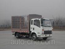 豪沃牌ZZ5047CCYF331BE143型仓栅式运输车