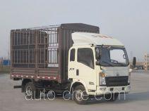 豪沃牌ZZ5047CCYF341BD1Y45型仓栅式运输车