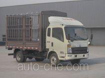 豪沃牌ZZ5047CCYF341CD1Y45型仓栅式运输车