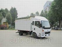 豪泺牌ZZ5047CPYB2813D1Y45型蓬式运输车