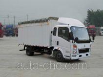 Sinotruk Howo ZZ5047CPYC2813D137 soft top box van truck