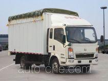 豪泺牌ZZ5047CPYC3413D144型蓬式运输车