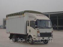 Sinotruk Howo ZZ5047CPYF341BD145 soft top box van truck