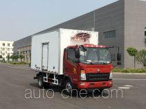Sinotruk Howo ZZ5047XLCF341CE145 refrigerated truck